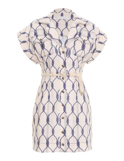 Moonshine Cuffed Mini Dress