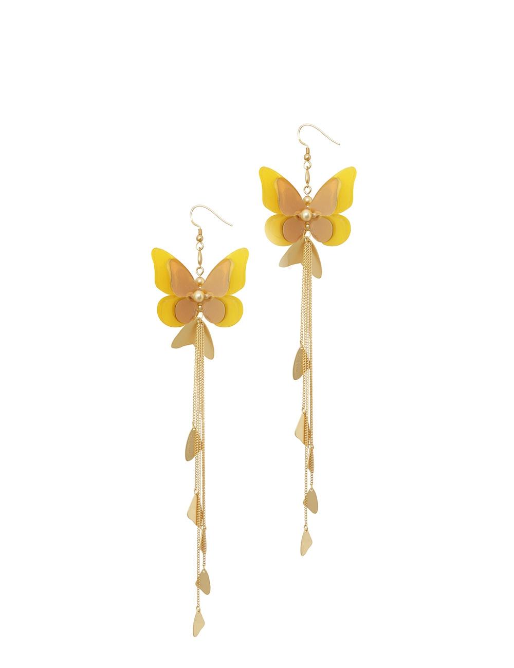 Butterfly Drop Earring