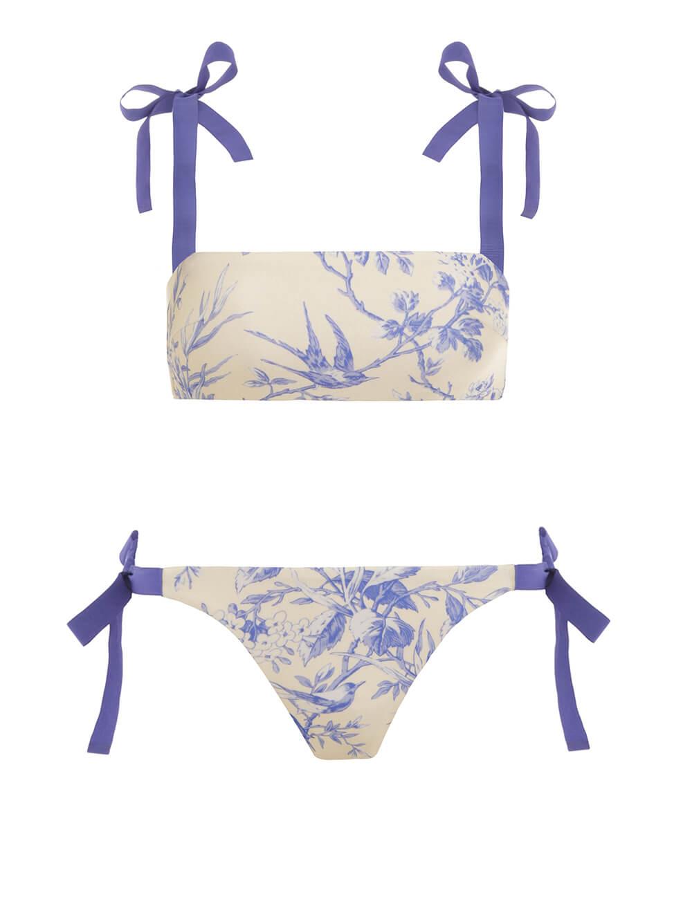Verity Tie Bandeau Bikini