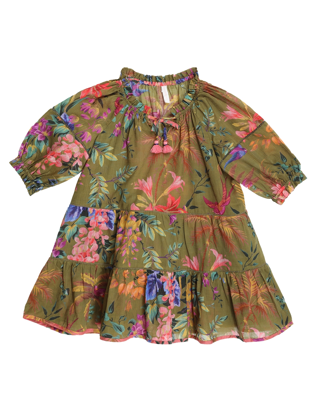 Tropicana Trim Dress
