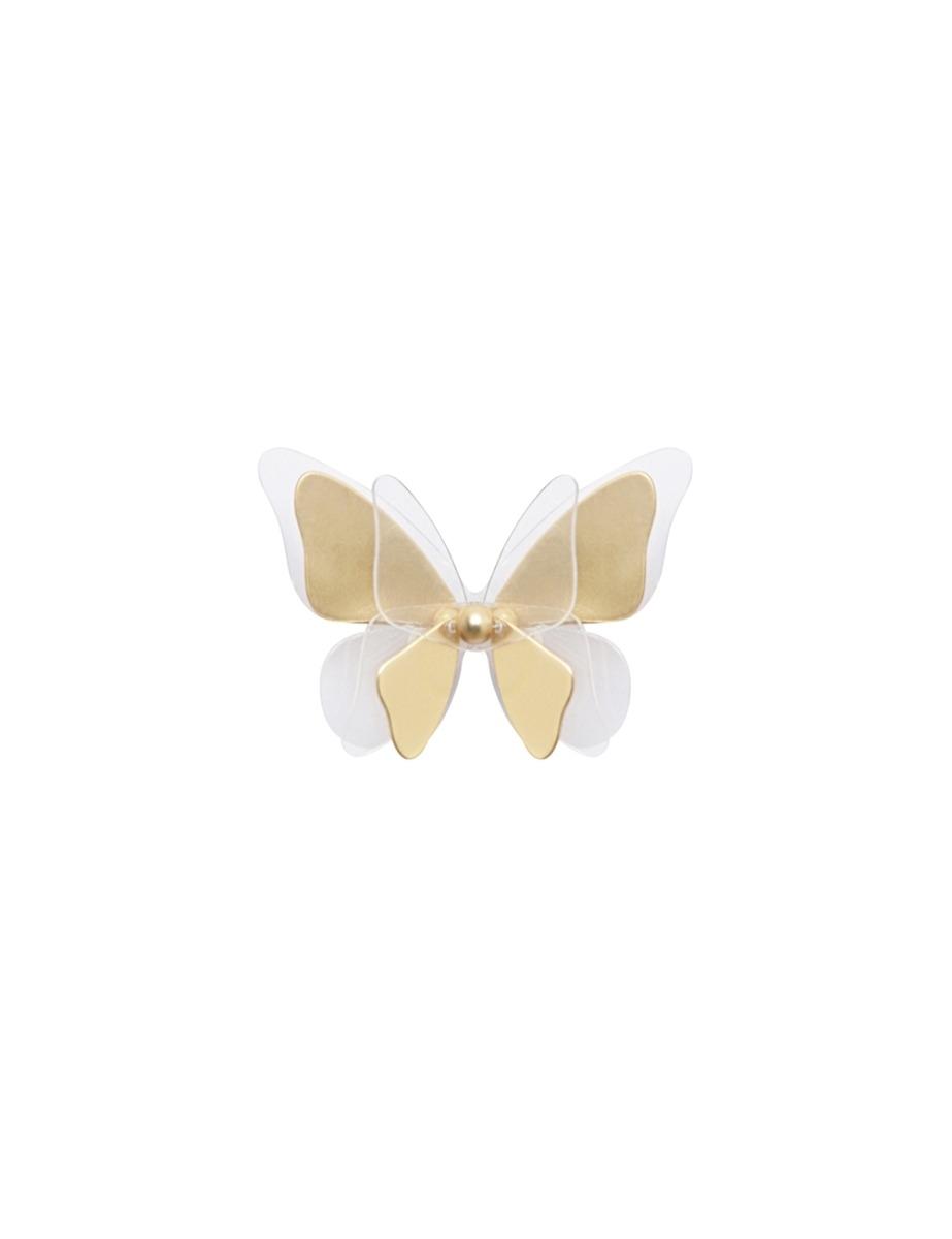Single Butterfly Ear Cuff