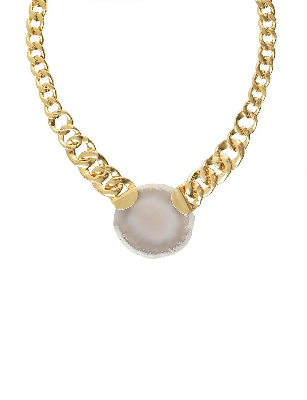 Stone Necklace Long