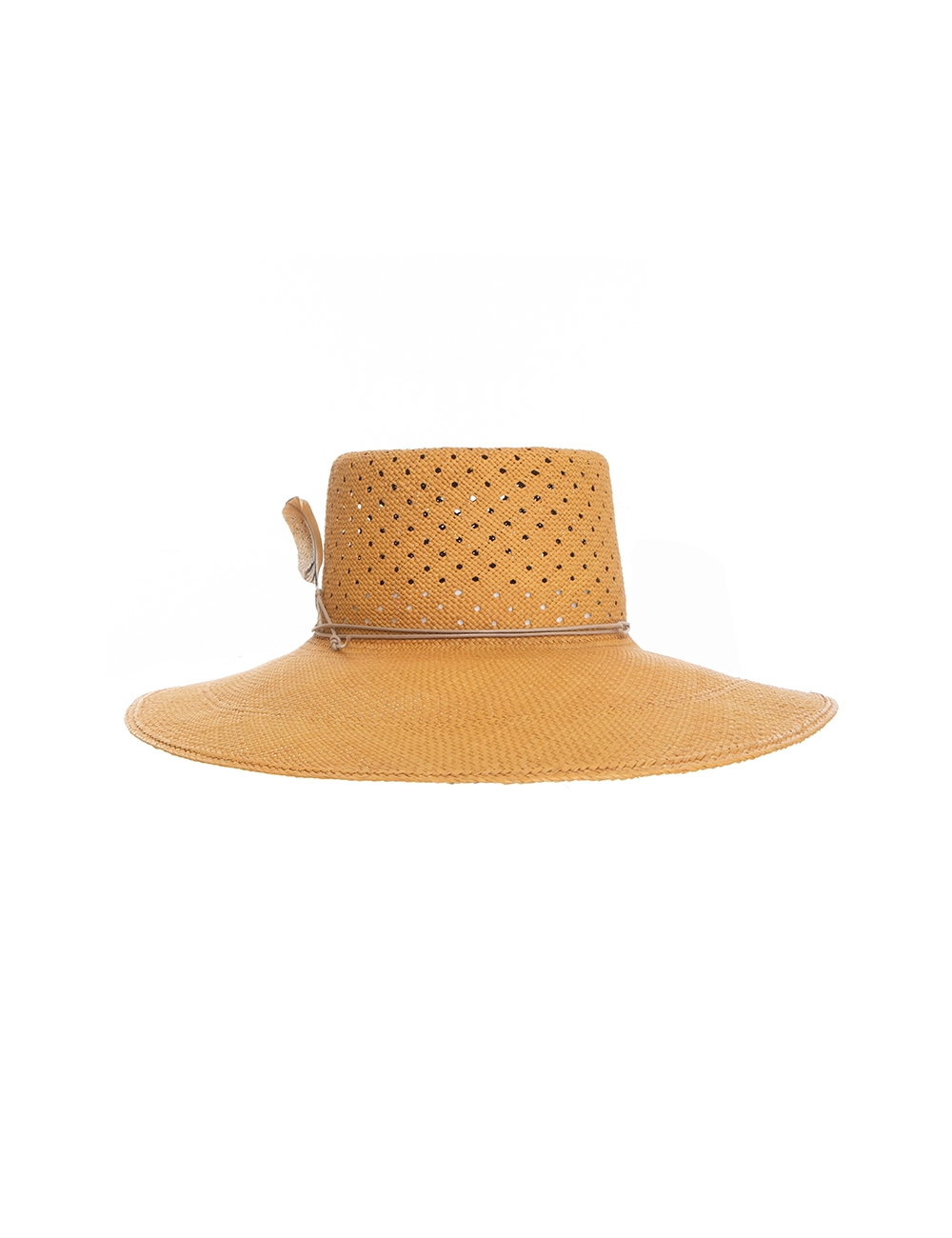 Vent Crown Panama Hat