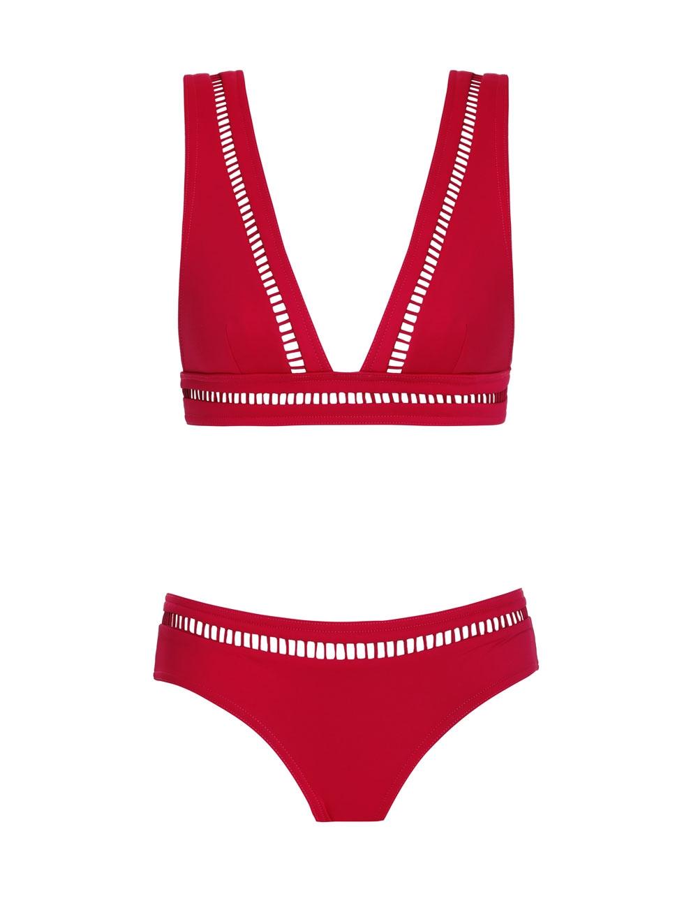 Poppy Ladder Tri Bikini