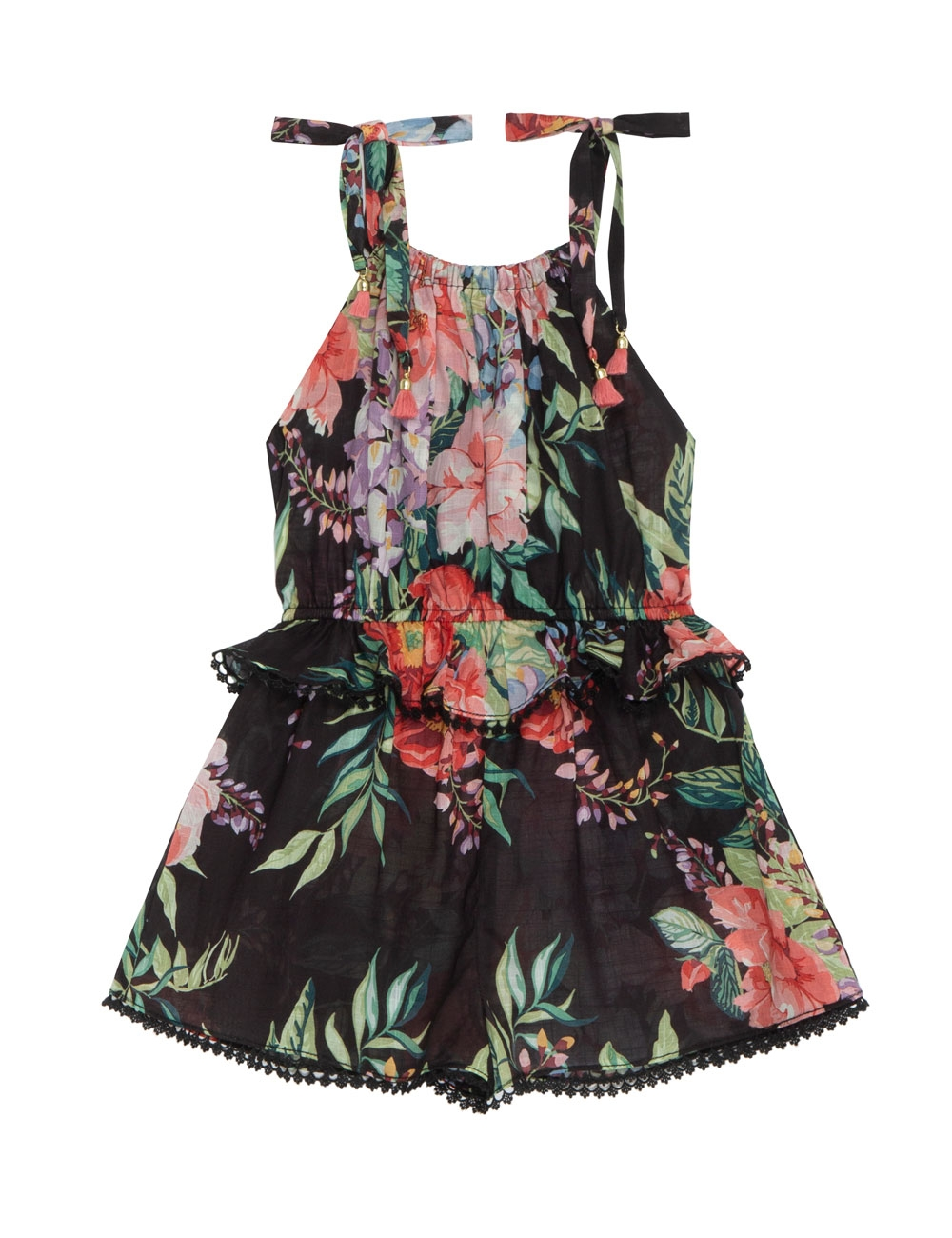 Bellitude Tie Playsuit