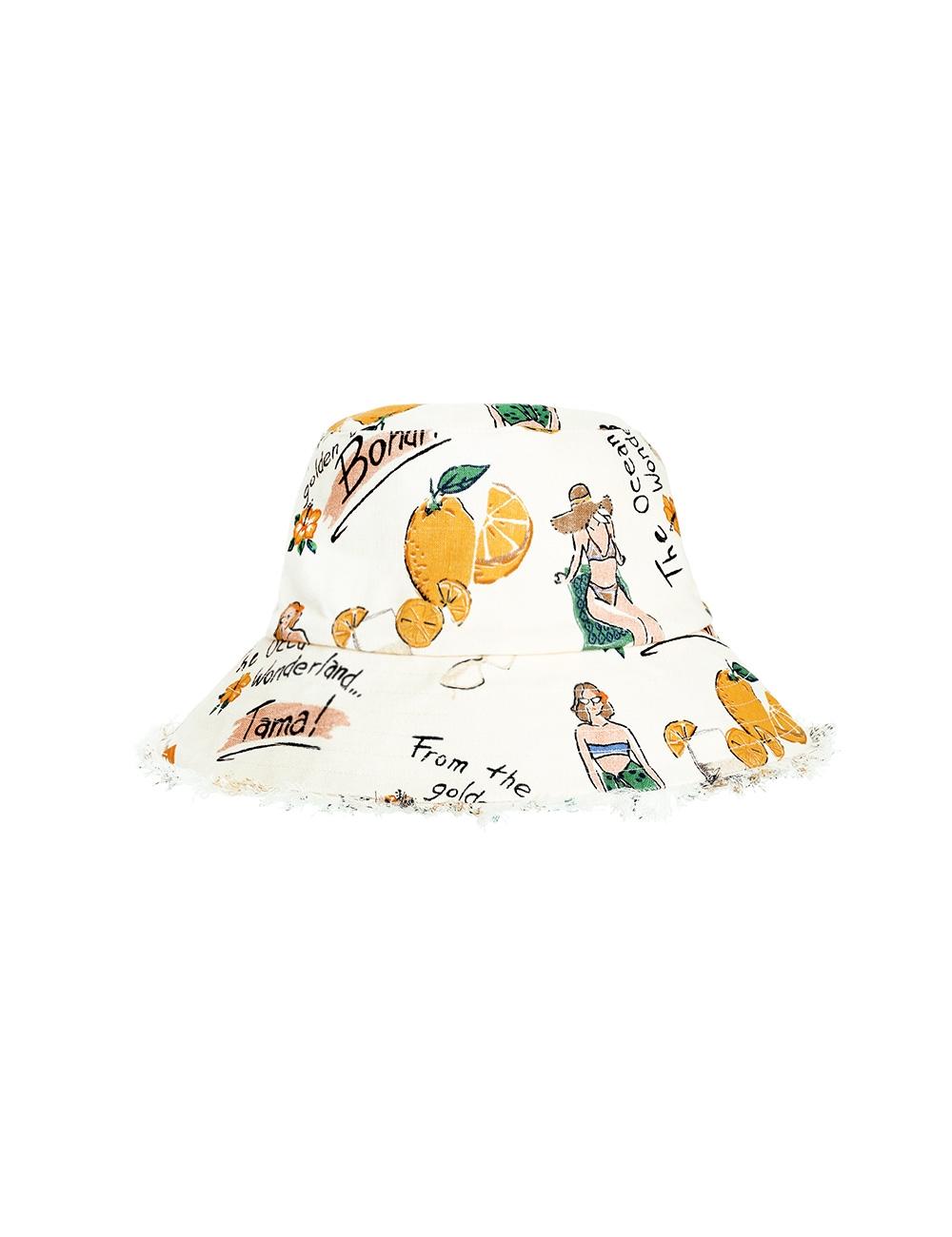 Frayed Bucket Hat