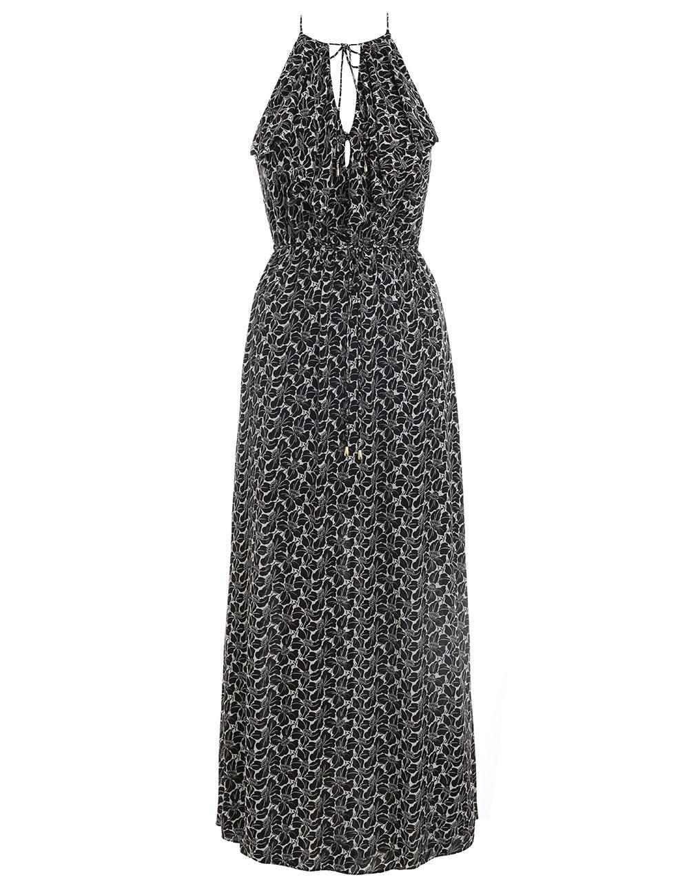 Cascade Midi Dress