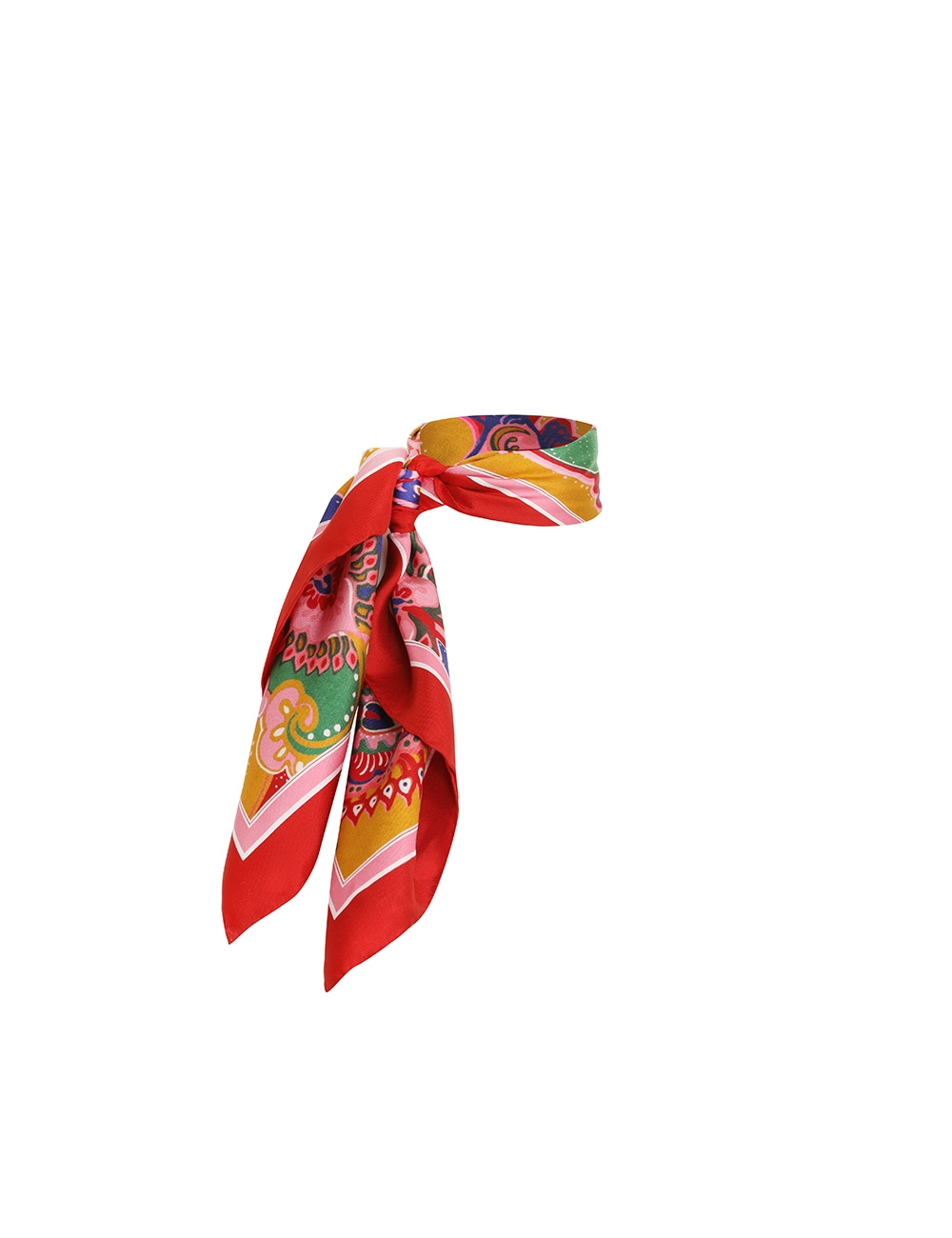 The Lovestruck Silk Headscarf