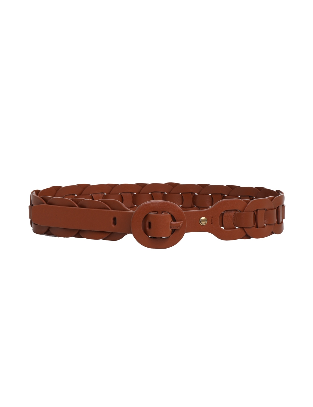 Leather Link Belt
