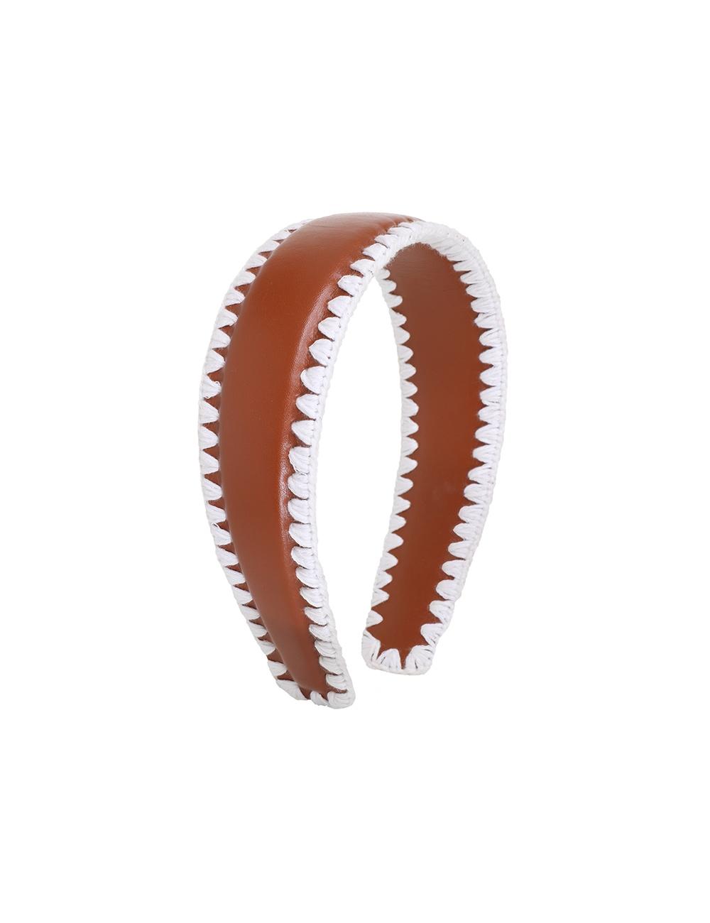 Ric Rac Leather Headband
