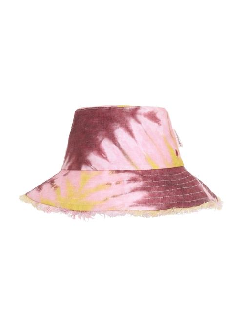 Reversible Frayed Bucket Hat