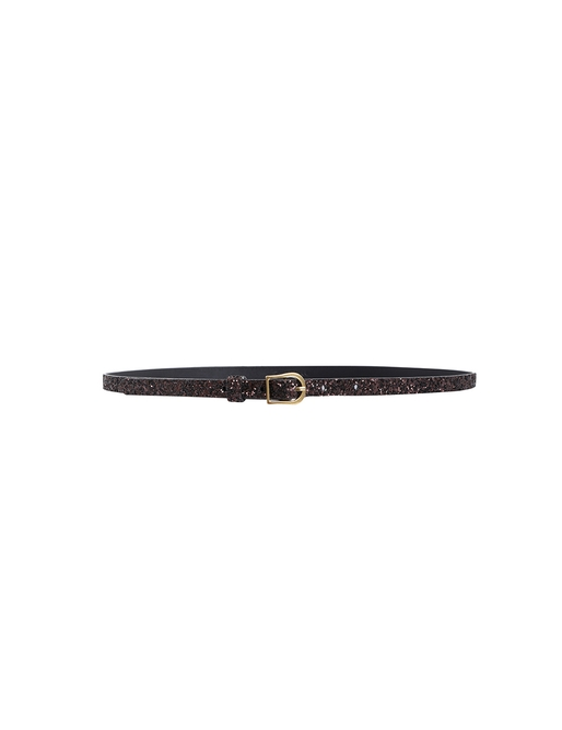 Narrow Waist Buckle Belt