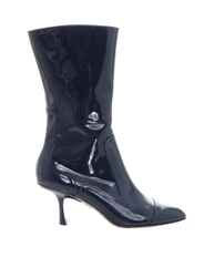 Patent Ankle Boot
