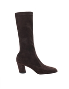 Stretch Suede Ankle Boot
