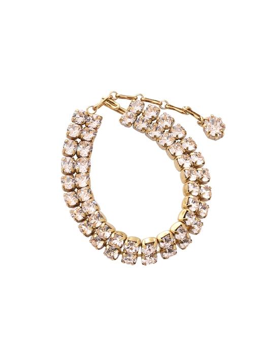 Double Crystal Tennis Bracelet