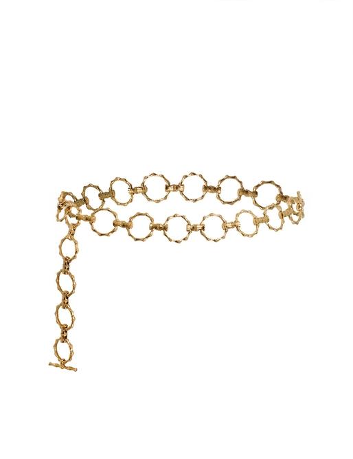 Textured Chain Link Belt