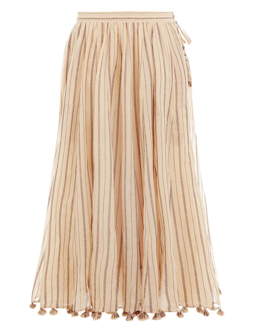 Suraya Draw Flare Skirt