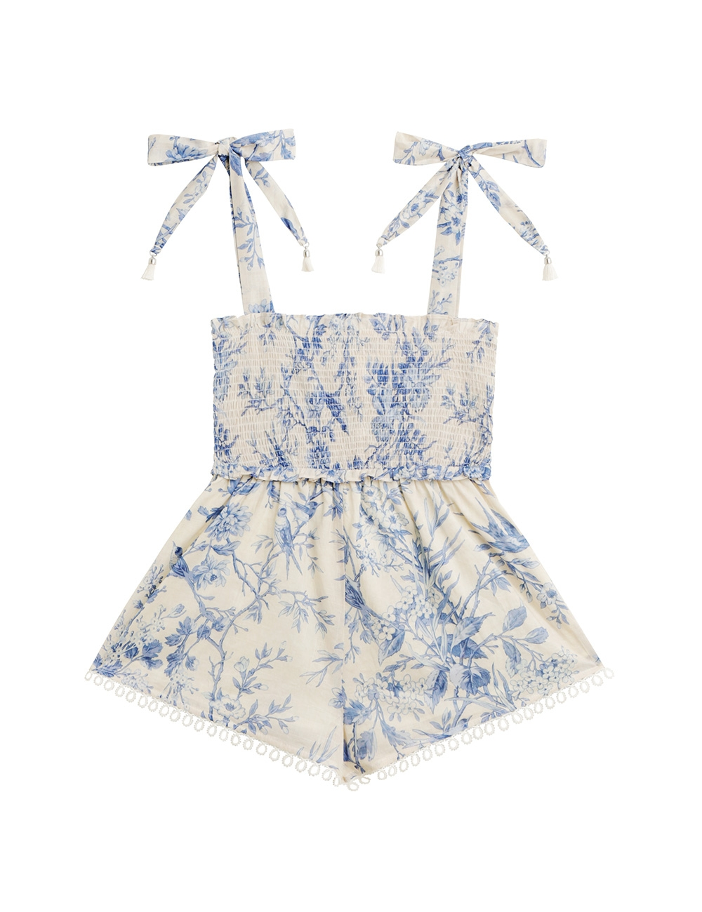 Verity Shirred Playsuit