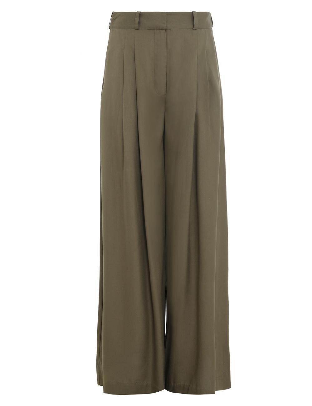Silk Wide Leg Pant