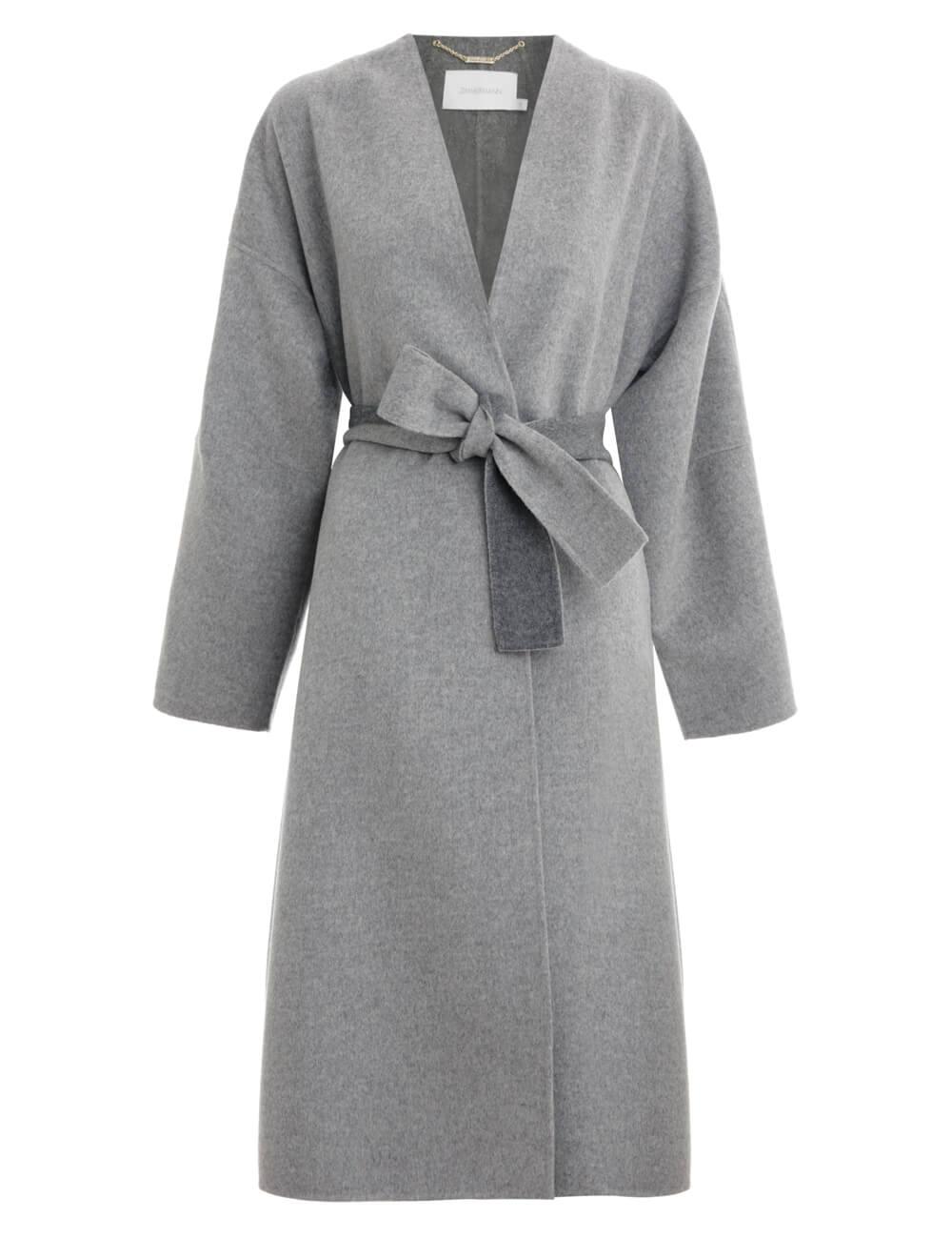 Espionage Wrap Coat
