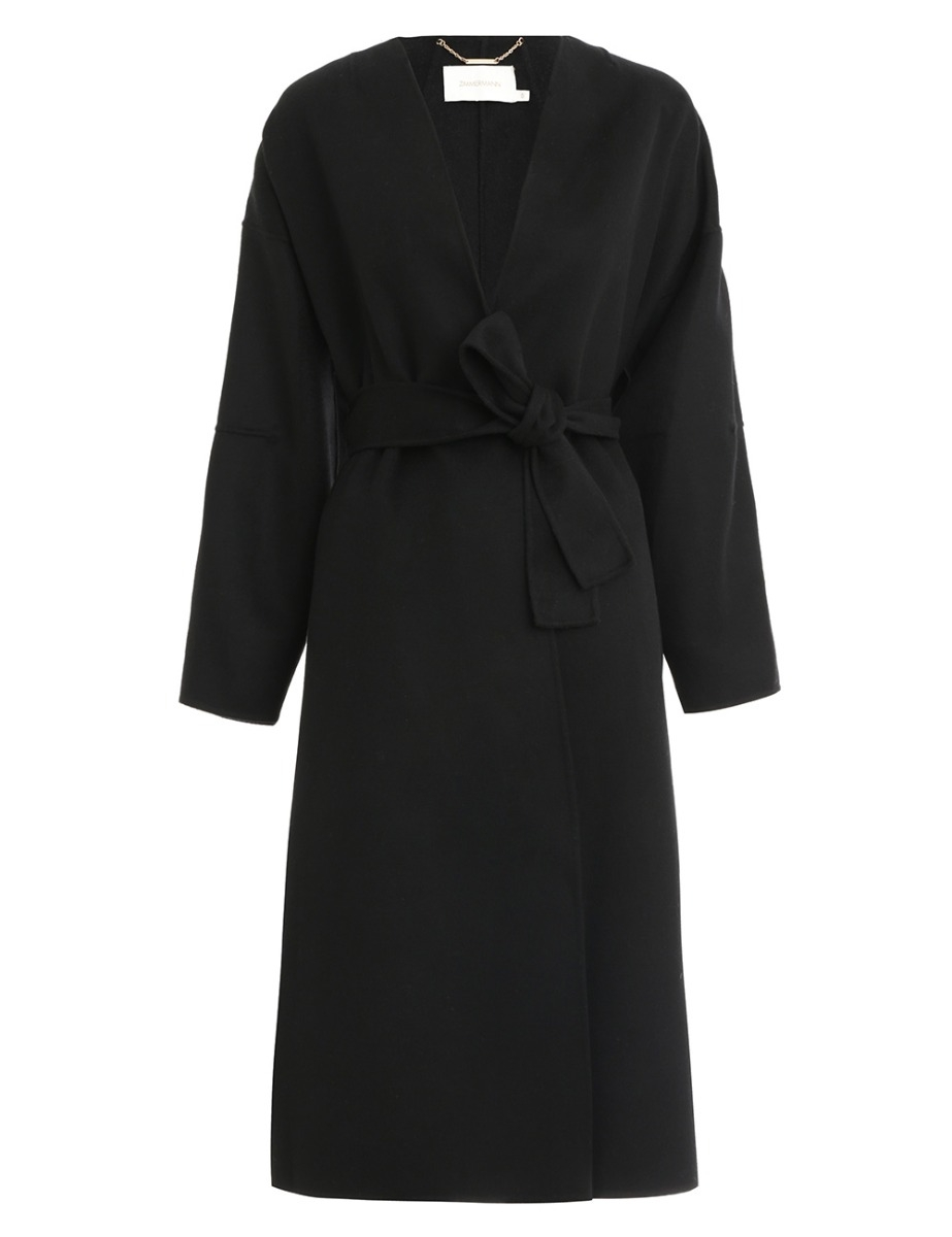 Sabotage Wrap Coat