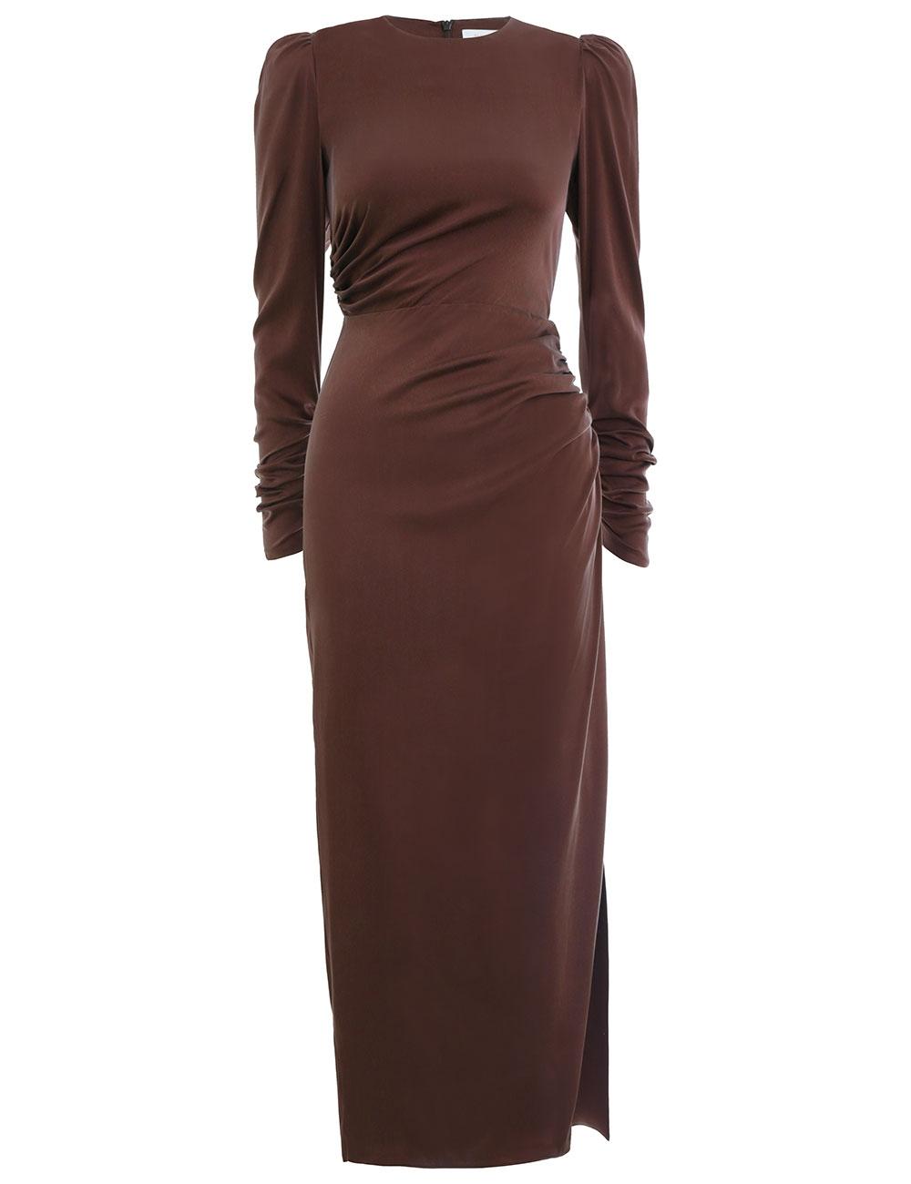 Ruched Drape Dress