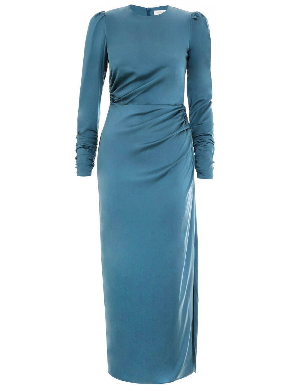 208d6a795248 1.5148drnin.teal.teal-ruched-drape-dress -flat.jpg?width=500&height=645&canvas=500:645&quality=100&bg-color=255,255,255&fit=bounds
