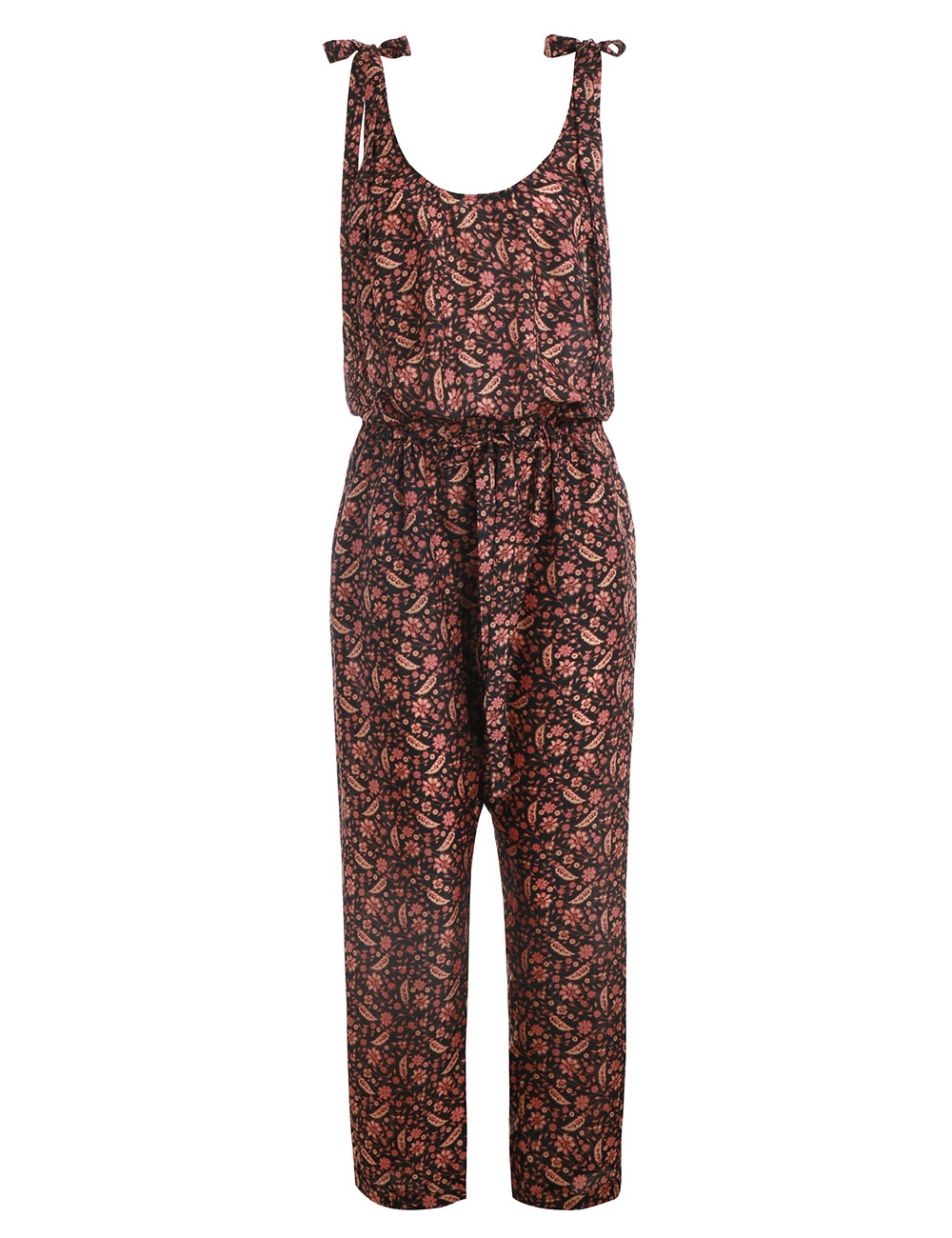 Juniper Tie Shoulder Jumpsuit