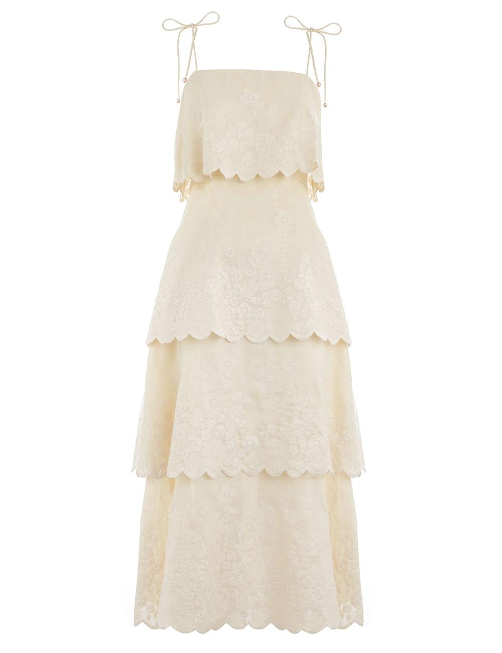 Primrose Embroidered Dress