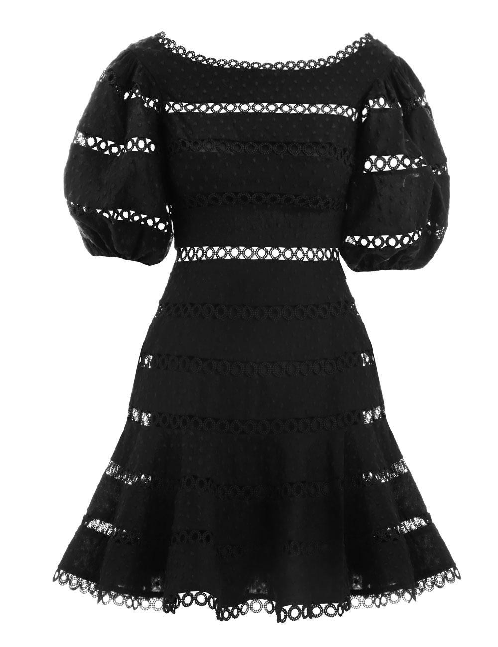 Bowie Contour Hailspot Dress