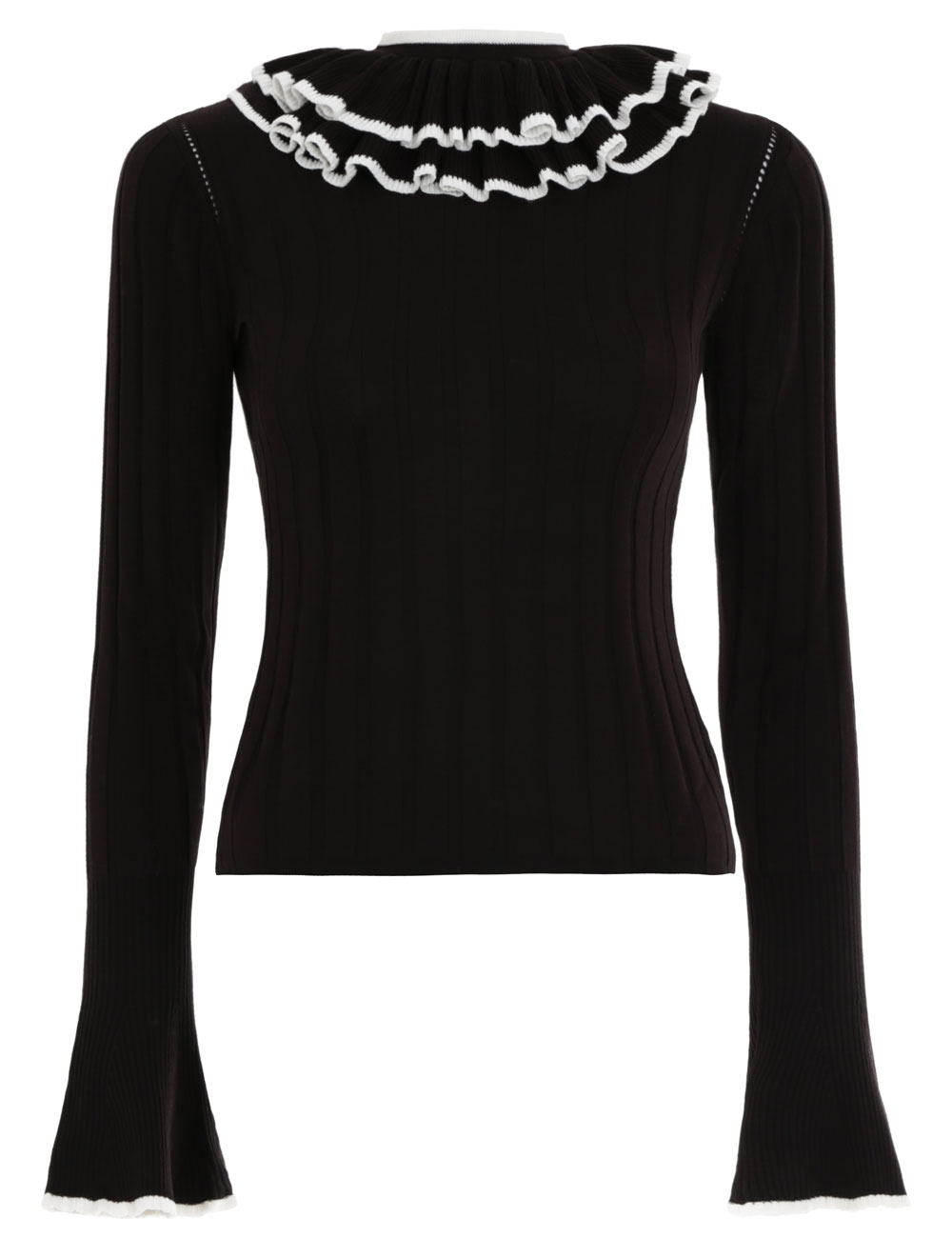 Frill Long Sleeve Top