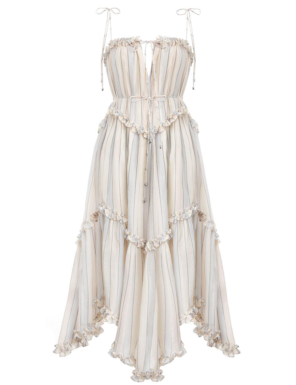 Bowie Floating Stripe Dress