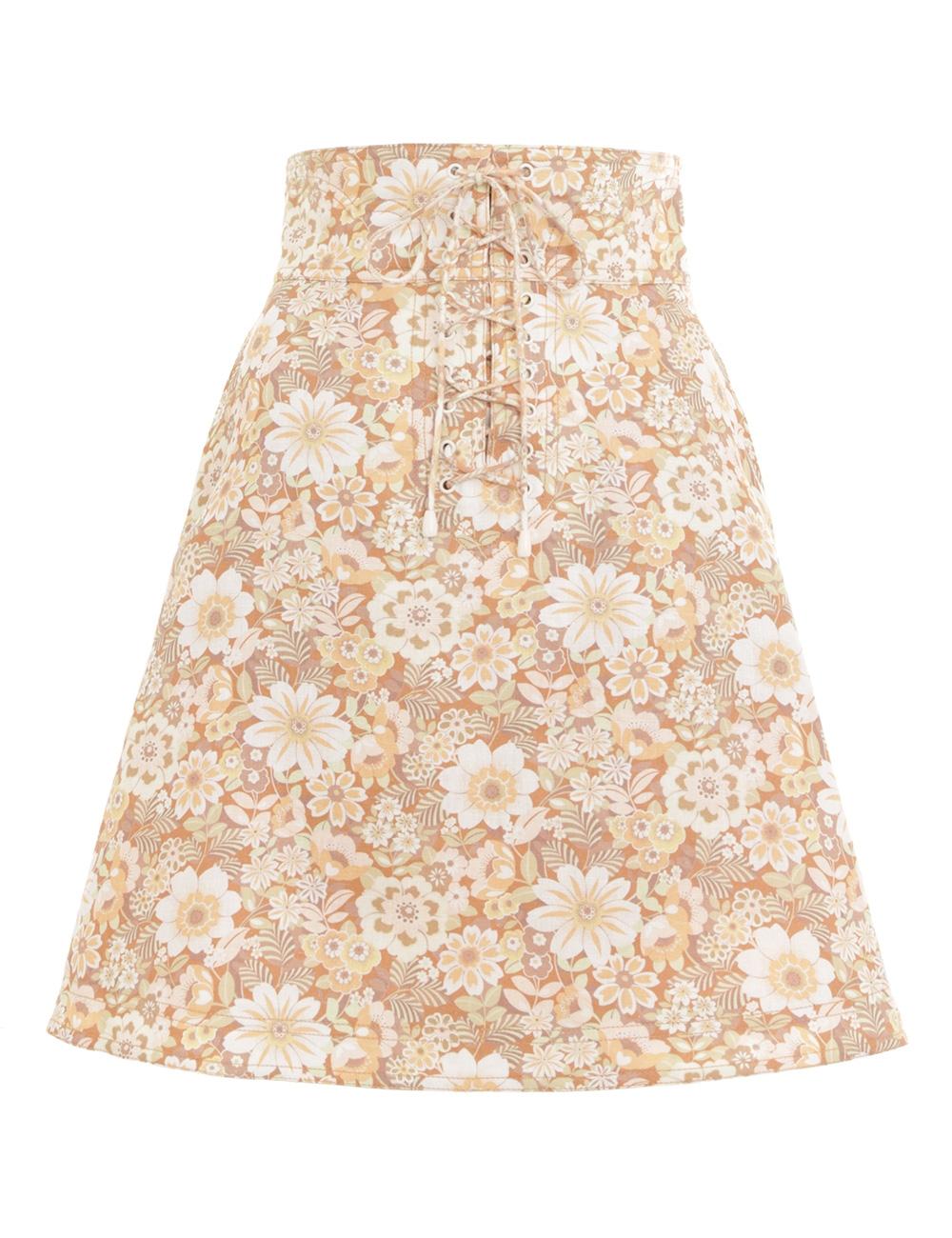 Zippy Lace Up Skirt