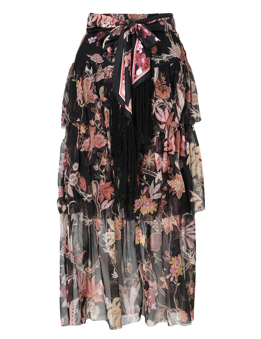 Wavelength Fluted Skirt
