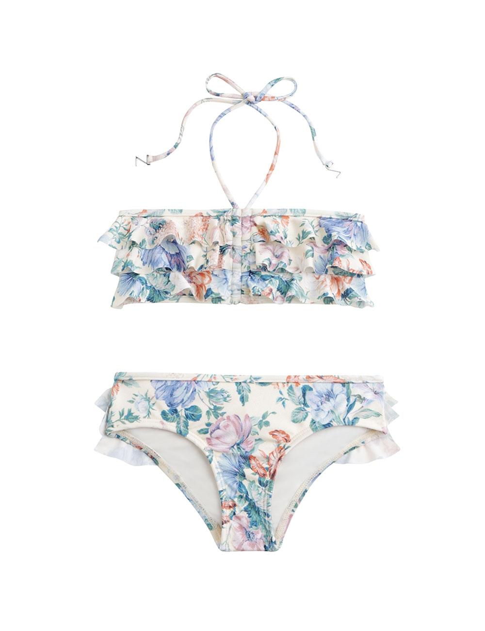 Verity Frill Bandeau Bikini