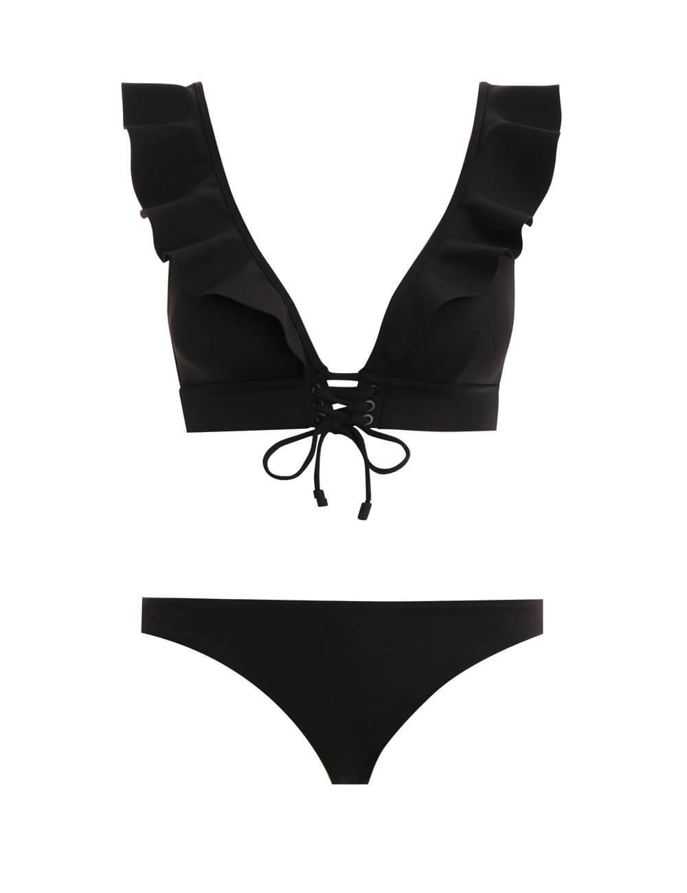 Suraya Frill Tie Front Bikini