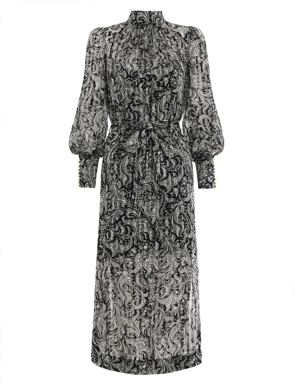 Ninety-Six High Neck Dress