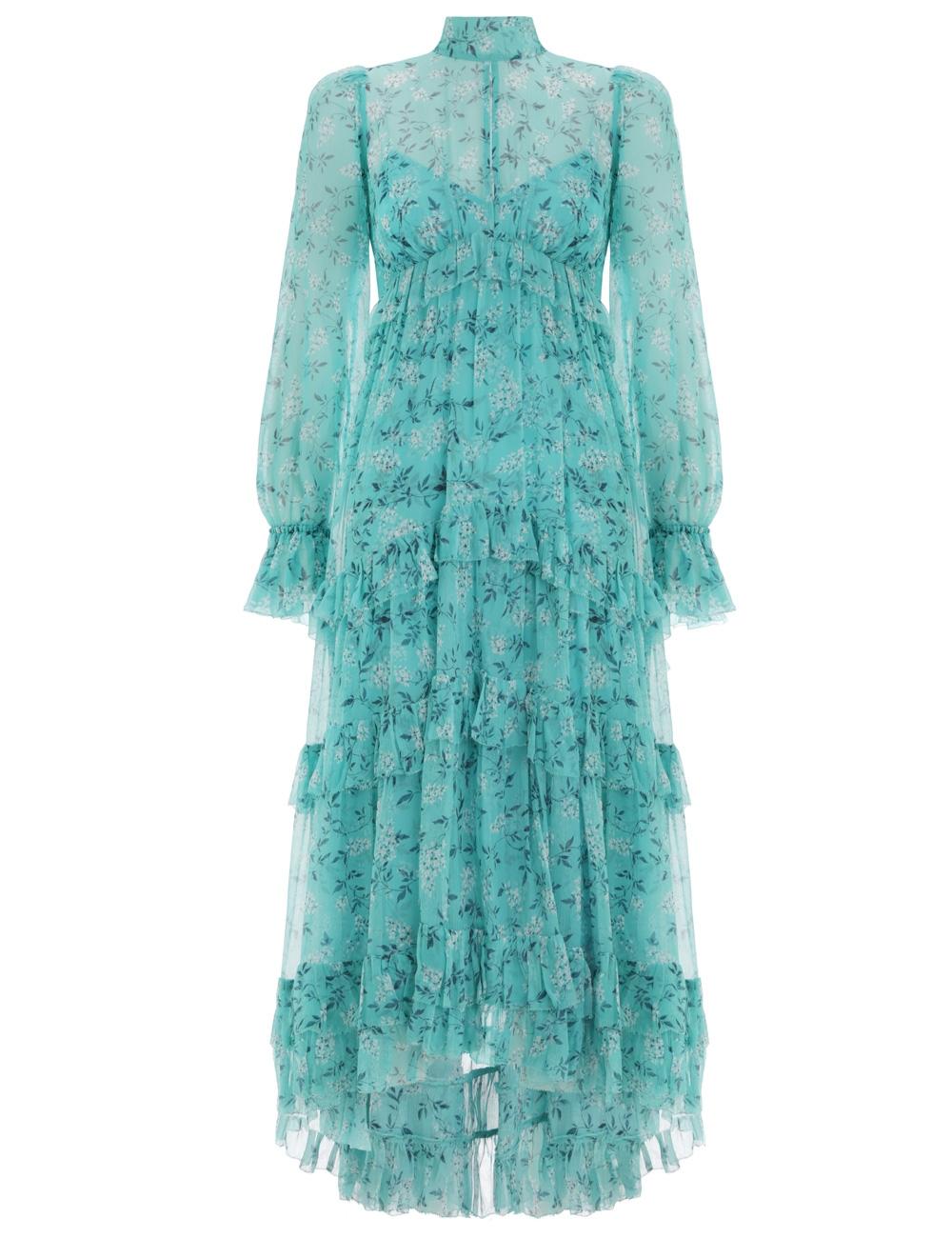 0310f2282128a Moncur Gathered Frill Dress
