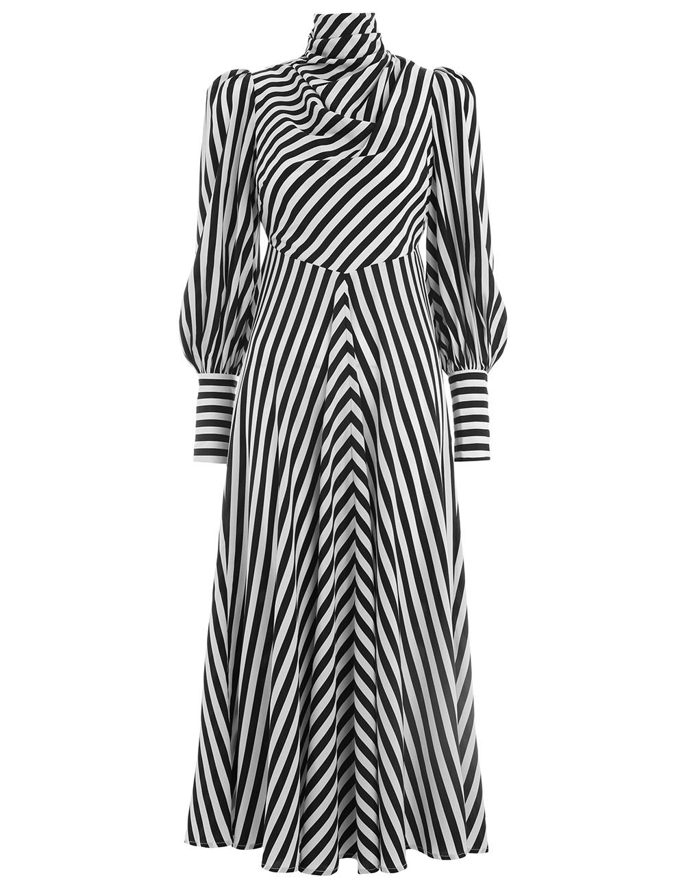 Moncur Cowl Dress