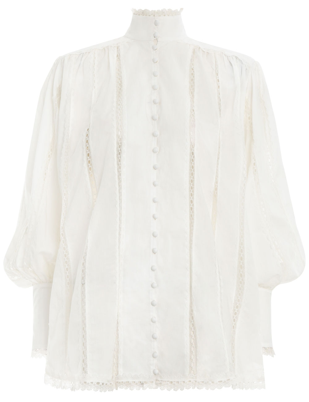 Lace Smock Blouse