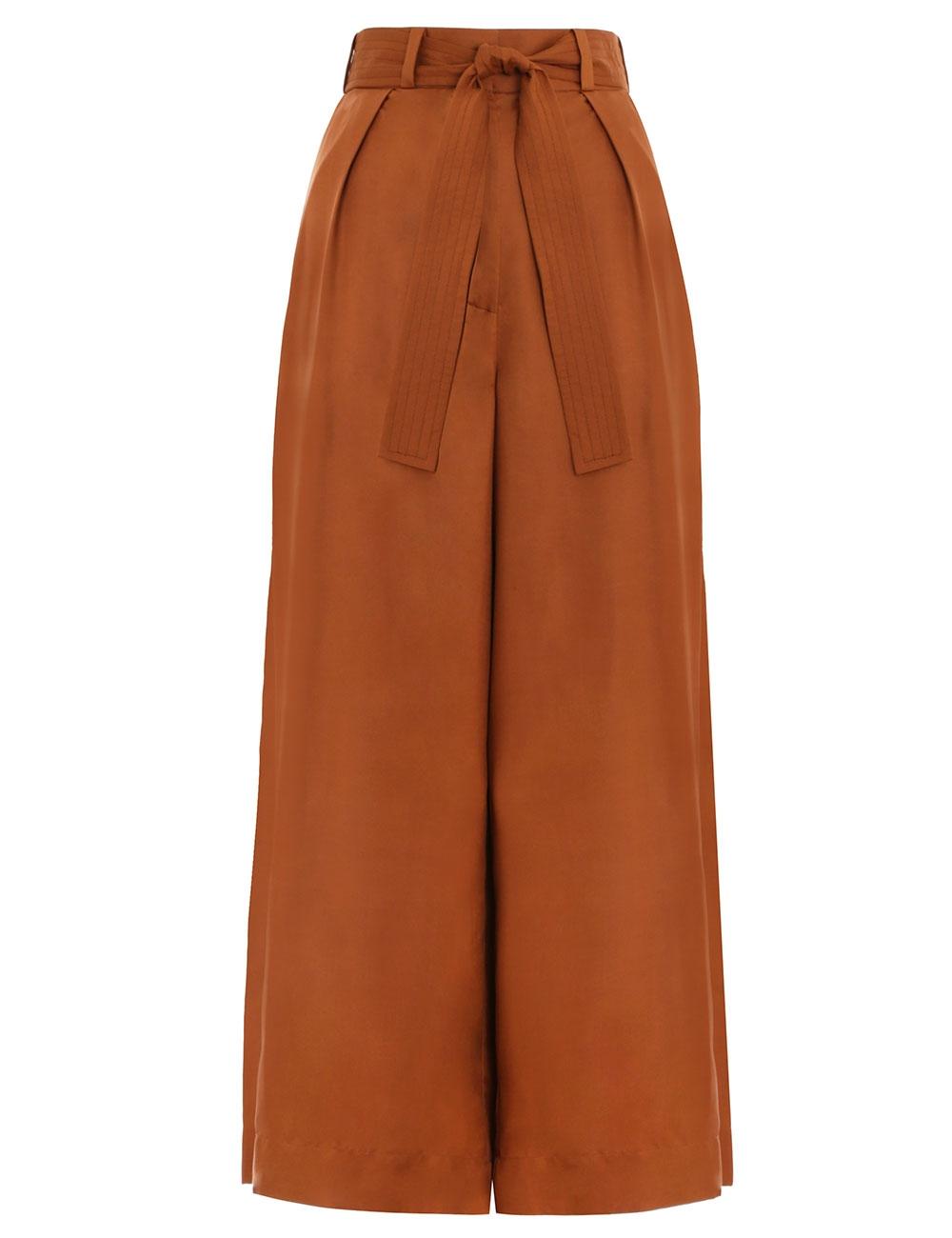Ninety-Six Tuck Crop Pant