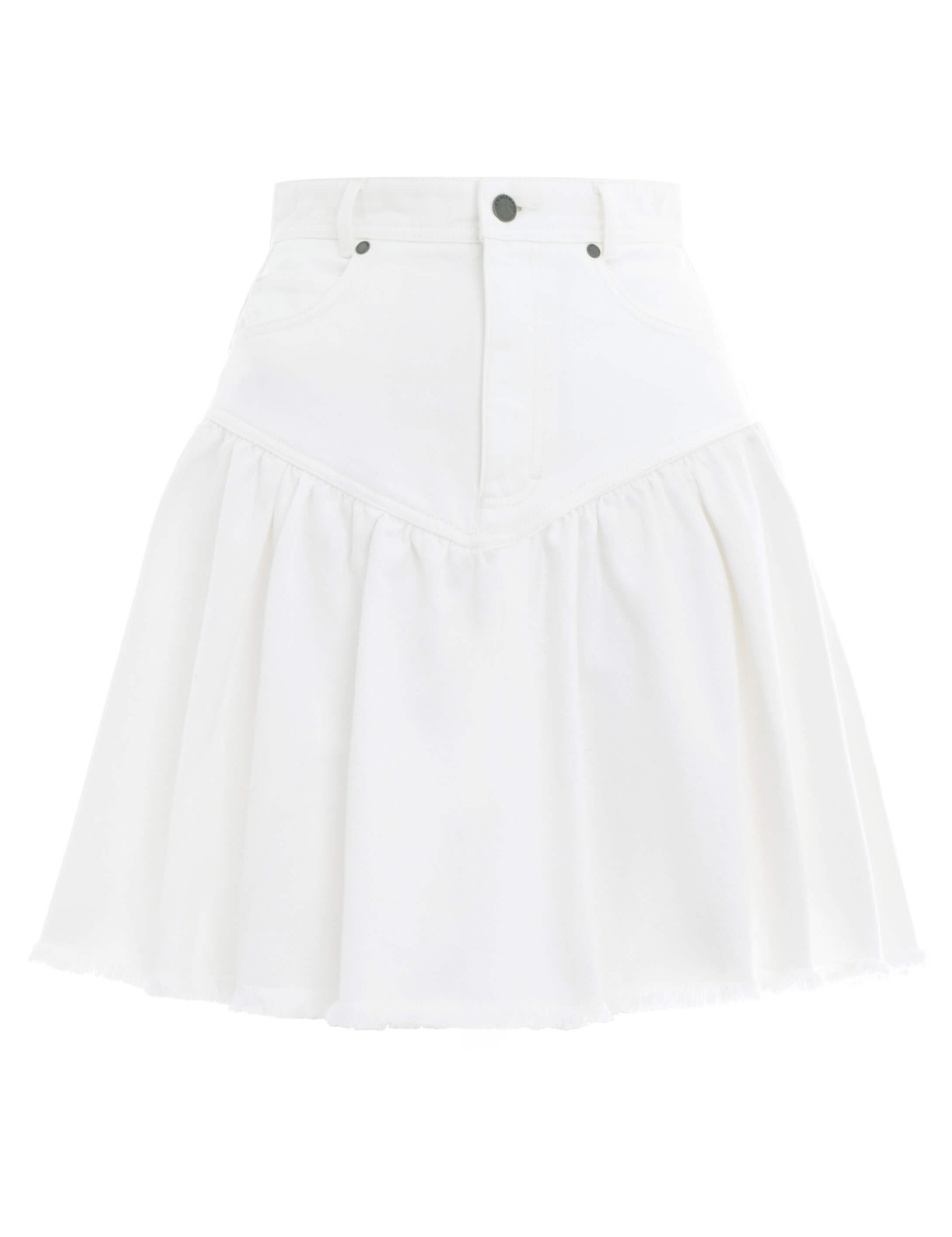 Veneto Denim Mini Skirt