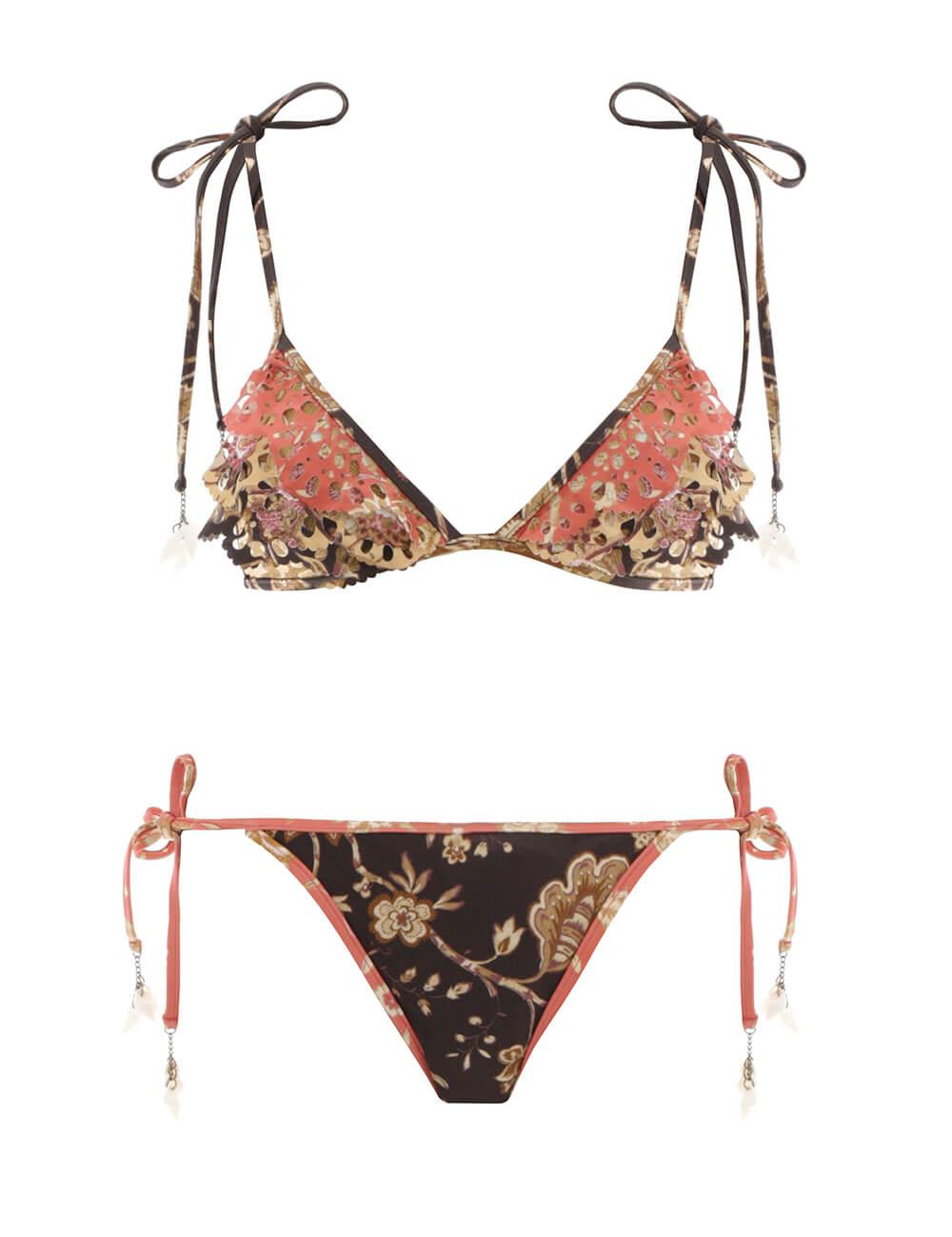 Veneto Scallop Frill Bikini