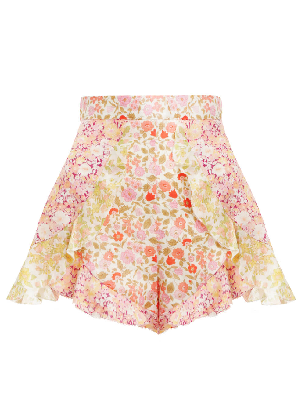 Goldie Spliced Frill Short