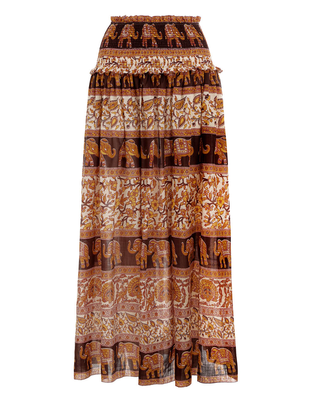 Suraya Shirred Waist Skirt