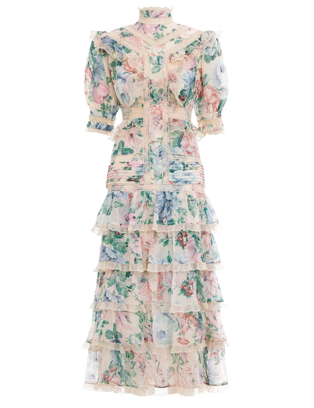 Verity Scallop Lace Dress