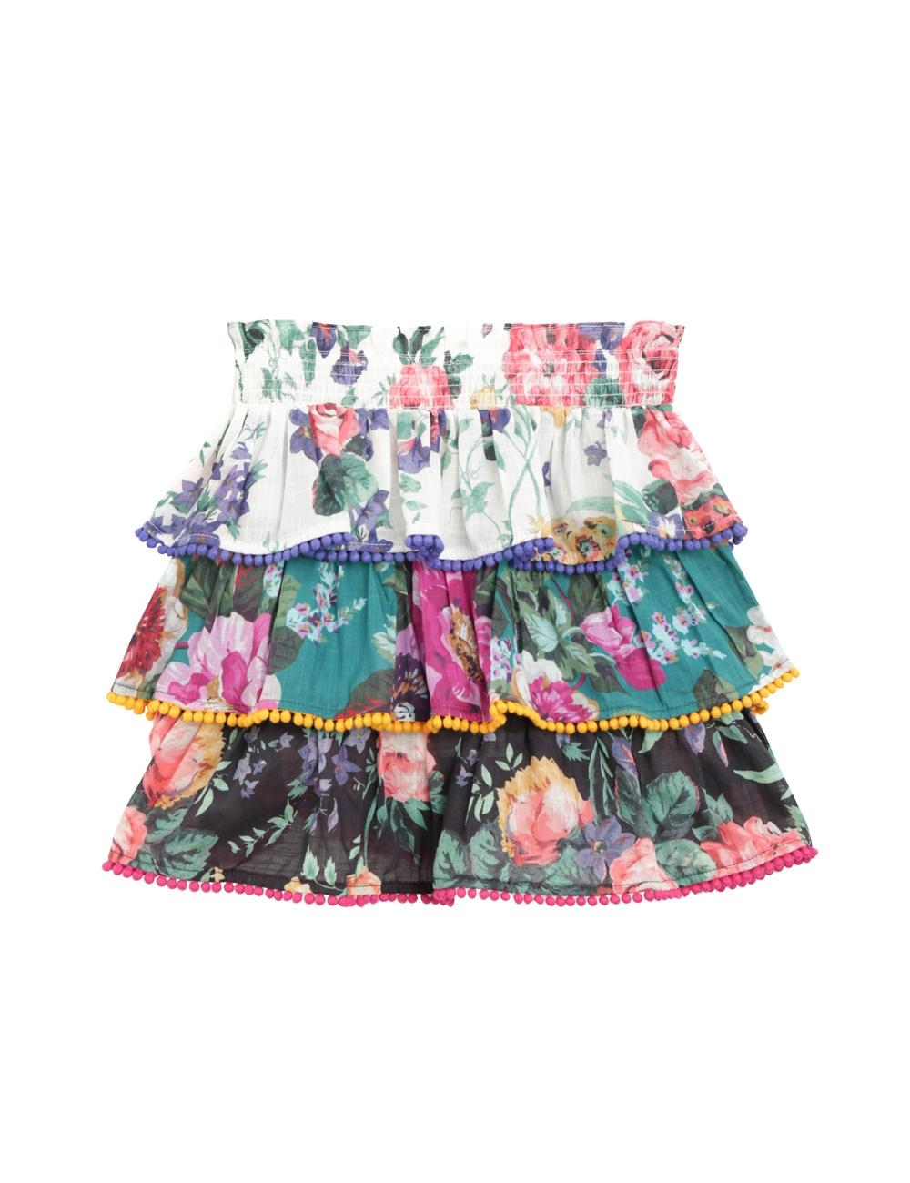 Allia Tiered Skirt