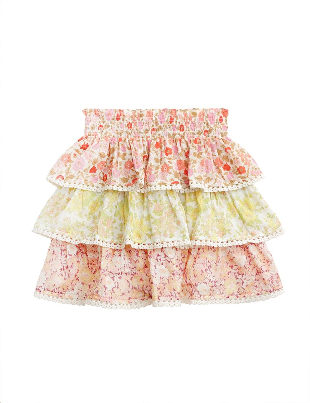 Goldie Tiered Skirt