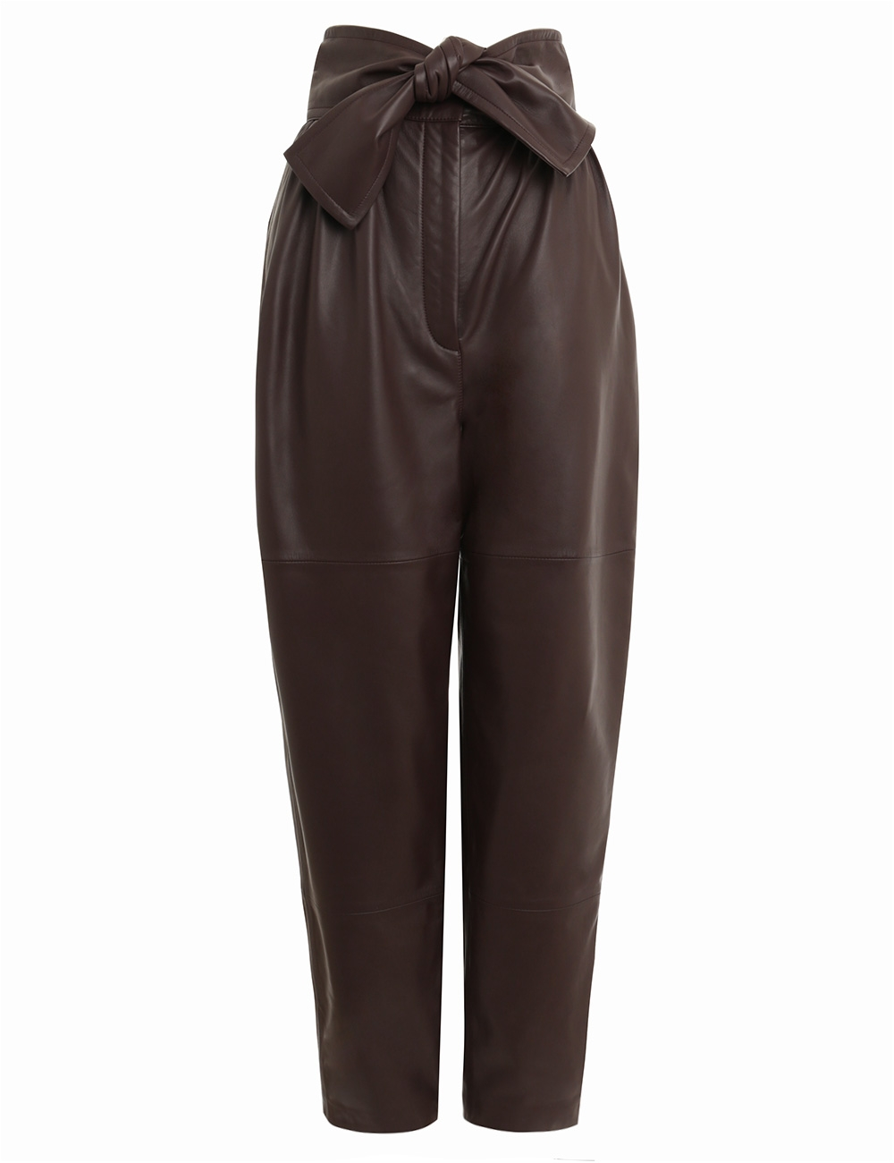 Resistance Leather Obi Pant