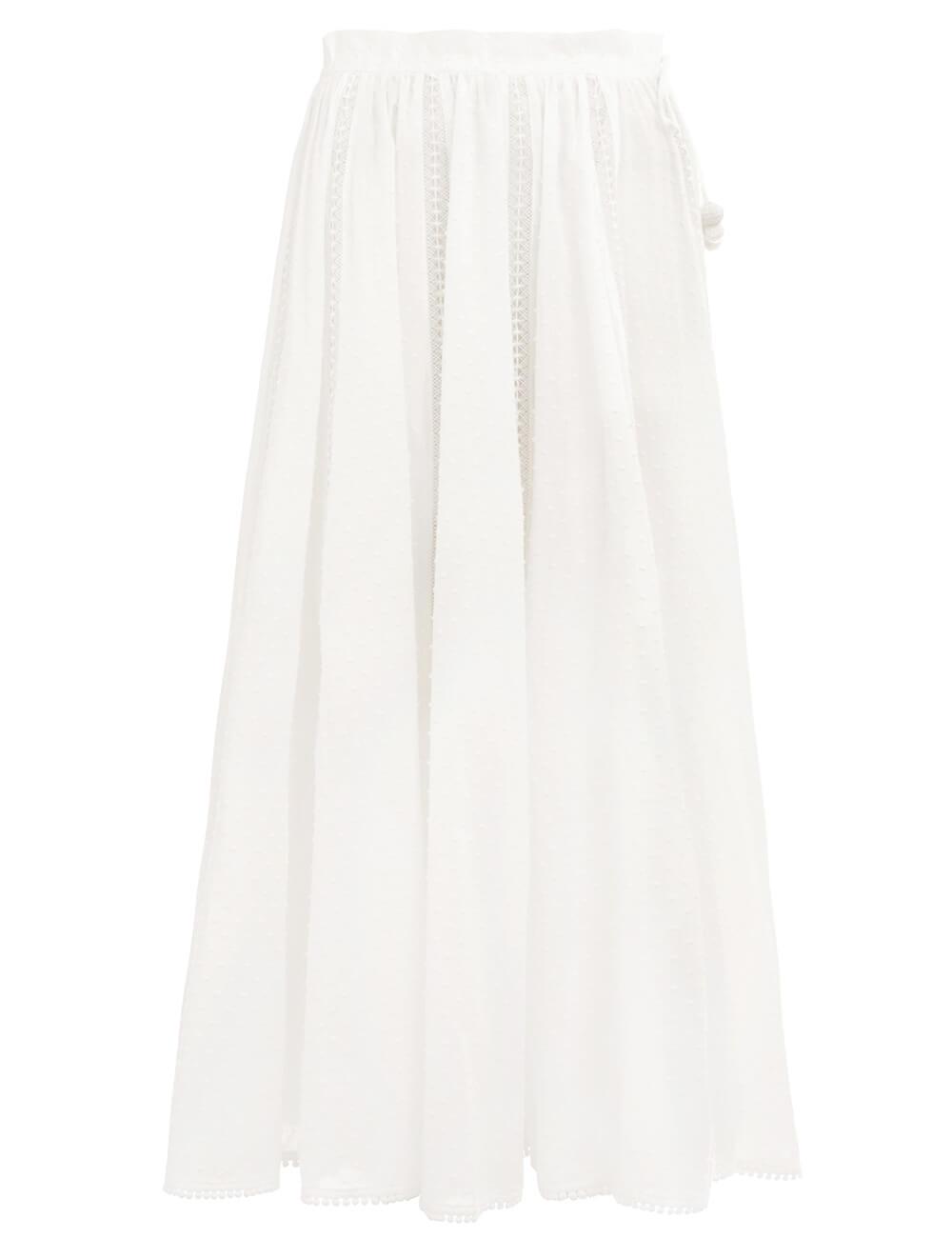 Suraya Lace Insert Skirt